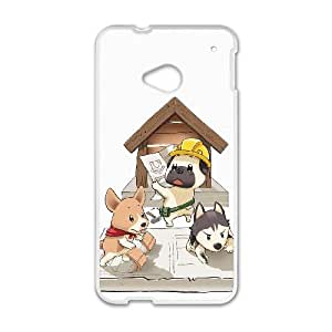 HTC One M7 Cell Phone Case White INDEPENDENT CONTRACTOR OJ530664