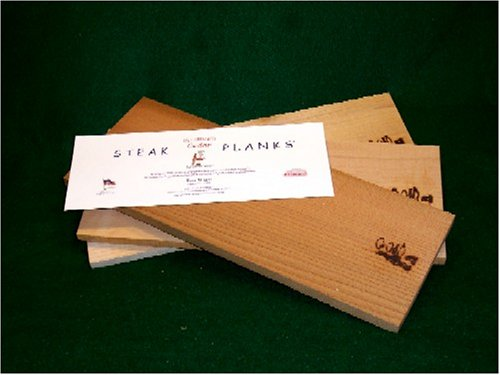 Western Maple Steak Planks 6 x 15 x 1/2 inch thick(Case of 24)