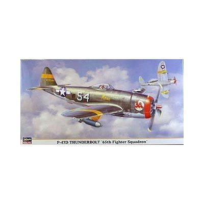 Hasegawa P 47 D Thunderbolt 65th Fighter Squadron Amazoncouk Toys Games