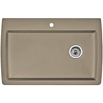 this item blanco 441287 diamond single basin drop in granite kitchen sink truffle. Interior Design Ideas. Home Design Ideas