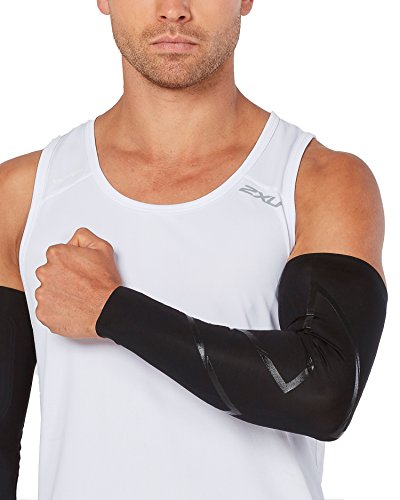 2XU MCS Elite Compression Arm Guard, Black/Nero, X-Large