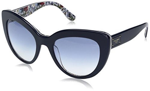 Dolce-Gabbana-Womens-Acetate-Woman-Cateye-Sunglasses-Top-Blue-on-Majolica-53-mm
