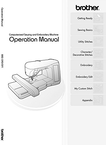 (Brother Innov-is 4000D 4000 Sewing Embroidery Machine Owners Instruction Manual)