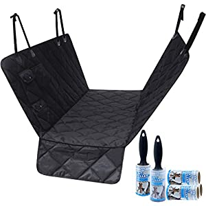 Eigenheim Dog Car Seat Cover Waterproof Pet Seat Cover Nonslip Durable Back Dog Car Hammock with Seat Anchors for Car Truck and SUV 12