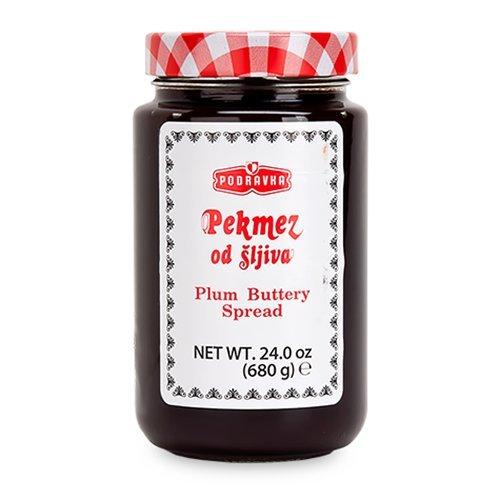 (Podravka Pekmez Plum Butter Jar, 680 Gram (Pack of 8))