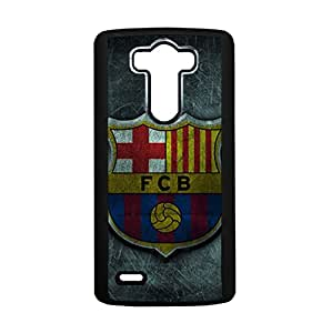 Football Club Barcelona Phone Case,Fashion Delicate Barcelona Logo Design Hard Durable LG G3 Phone Shell Case