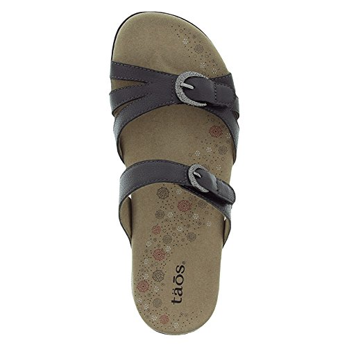 Slide Reward Women's Black Sandal Taos qpnF8vF1