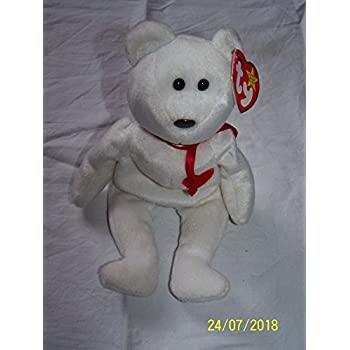 7c095860c56 Amazon.com  TY Beanie Baby - CELEBRATIONS the Golden Jubilee Bear ...
