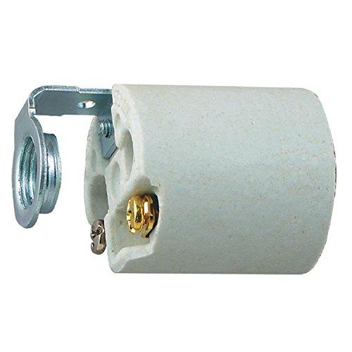 Westinghouse Lighting 7042600 Porcelain Fixture Socket, -