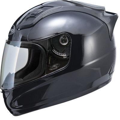 Gmax GM69 Gloss Black Full Face Street Helmet X-Large 134349