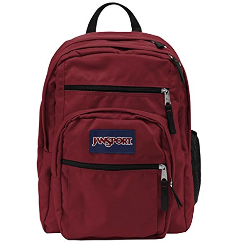 JanSport Big Student Backpack JS00TDN79FL Viking Red (Oversized Jansport Backpack)