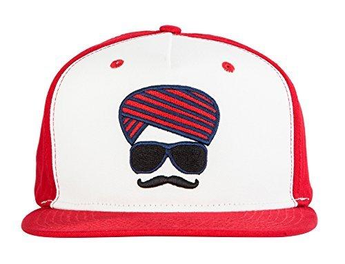 Urban Monkey Premium Red Adjustable Look(Gangster Af) Baseball Turban  Snapback Free Size Unisex e5a56bb7285d