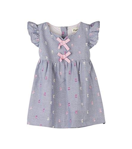 - Hatley Baby Girls Mini Pinafore Dress, Pink Bows, 3-6M