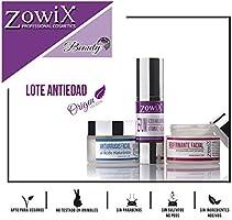 Zowix. Pack regalo mujer de Cosmetica Natural. Lote cremas antiarrugas, lifting y serum facial. Kit de belleza natural. Set antienvejecimiento. Un cofre antiedad.: Amazon.es: Belleza