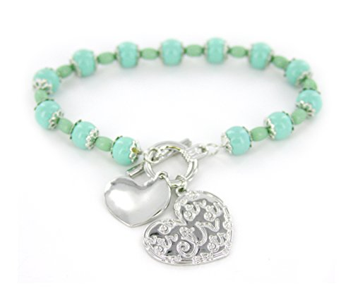 I (Heart) CTR Bead Bracelet - Perfect for Young Women and Adults - Adult Size Ctr Heart