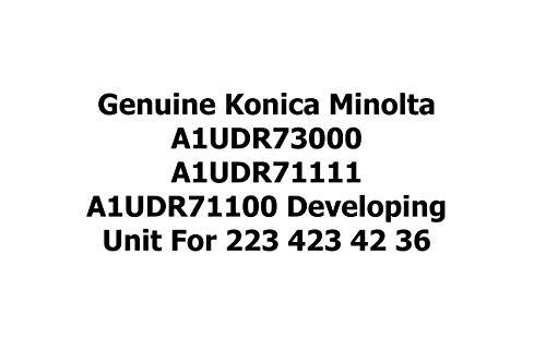 Genuine Konica Minolta A1UDR73000 A1UDR71111 A1UDR71100 Developing Unit for 223 423 42 36 by Konica-Minolta (Image #1)