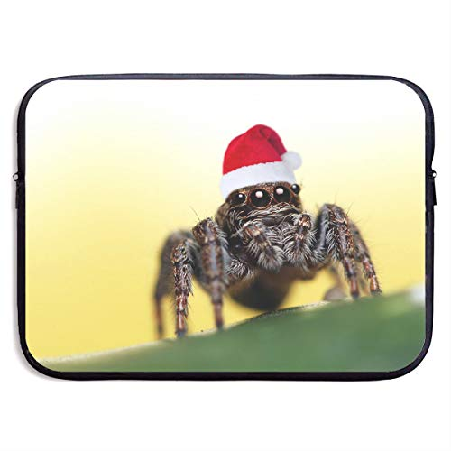Santa Spider Funny Picture Computer Liner Storage Bag - Portable Waterproof Laptop Case Briefcase Sleeve Bags Cover ()