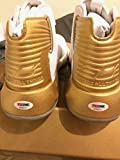 Stephen Curry Autographed Signed Limited 17/30 Dual Under Armour Ua Curry Sc 3zero Gold PSA
