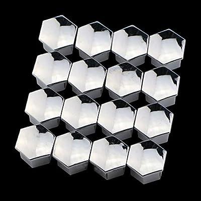 Amazon.com: W-Shufang - Juego de 16 tapacubos cromados para ...
