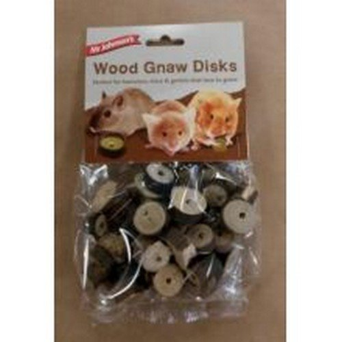 Mr Johnson's Wood Gnaw Disks (One Size, May Vary) ()