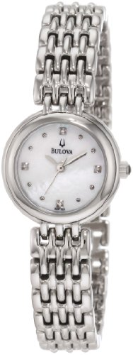 Bulova Women's 96P122 Diamond Petite Classic Watch ()