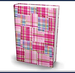 1 X The Original Book Sox - Jumbo Pink Plaid