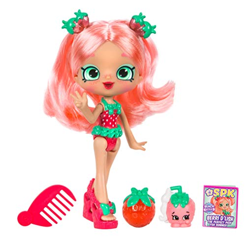 "5"" Shoppie Doll with Matching Shopkin & Accessories, Berri D"