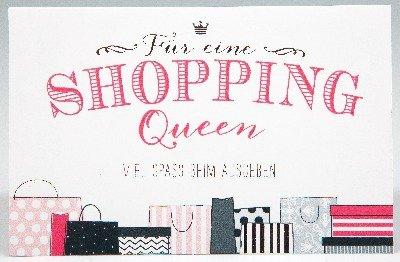 Klappkarte Fur Geldgeschenke 2239 015 Shopping Queen Amazon De