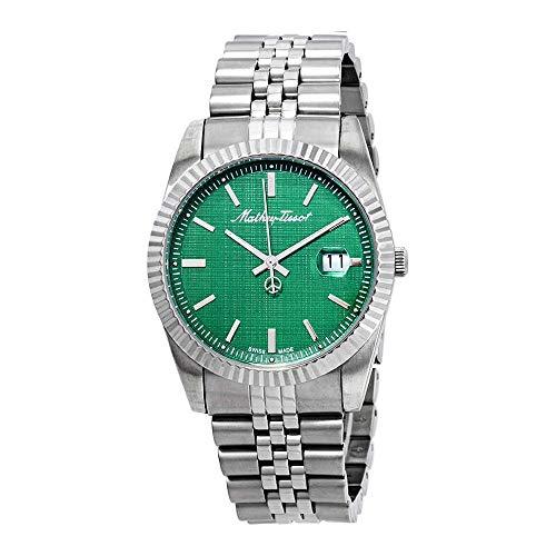 Mathey-Tissot Mathey III Quartz Green Dial Men's Watch H810AV