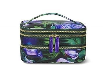 Amazon Com Sonia Kashuk Cosmetic Bag Triple Train Case 5 25 H X