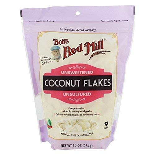 Bob's Red Mill Flaked Coconut, Unsweetened, 10 Oz