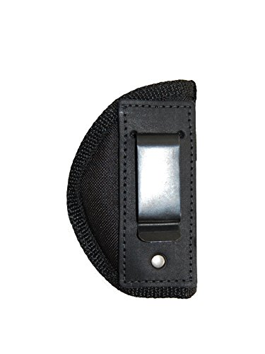 Barsony Holsters and Belts Baby Browning Seecamp Colt 25 Mini 22 25 380 Draw Inside The Waist Band, Black, Right Hand, Size 10