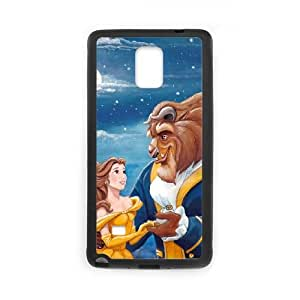Samsung Galaxy Note 4 Cell Phone Case Black_Disneys-Beauty-and-the-Beast_001 H0C1M