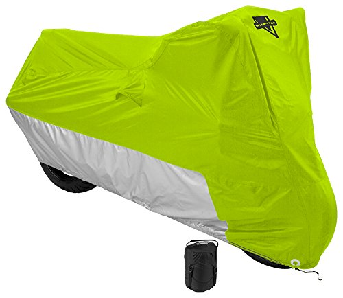 Nelson-Rigg Deluxe Motorcycle Cover, Weather Protection, UV, Air Vents, Heat Shield, Windshield Liner, Compression Bag,...