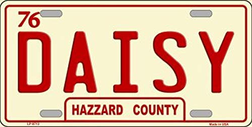 Daisy Hazzard County Novelty License Plate With Magnet ()
