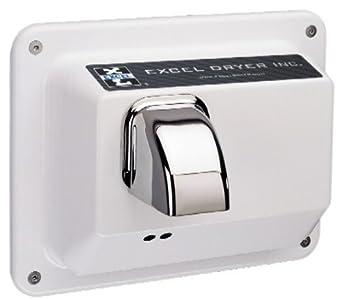 Amazon.com: Excel secador r76-iw secador de manos Hands Off ...