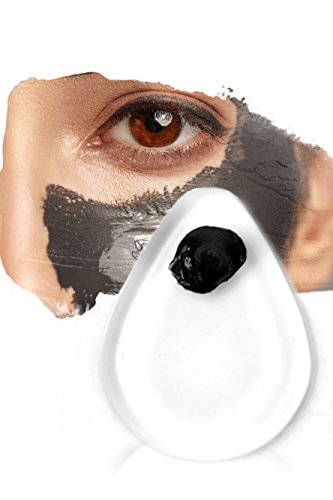 Silicone Makeup Blender - Soft Invisible Sponge + Face Mask Applicator - Better Than A Brush. Use With ANY Charcoal, Clay or Peel Aztec Mask. Use to Blend - Company Soho Eye The