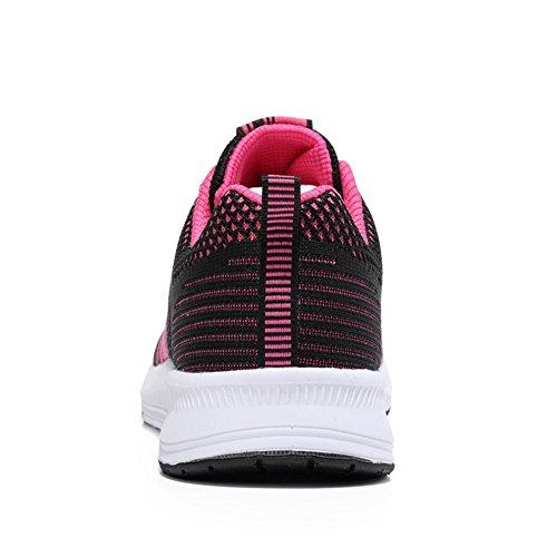 Sneakers Gym Shoes Sportive Scarpe rosso Nero ALI 2 Fitness Running da Donna Ginnastica amp;BOY z6qvX6