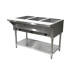 Advance Tabco HF-3G-LP LP Gas Hot Food Table