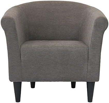 Tremendous Amazon Com Modern Barrel Chair Chic Contemporary Accent Uwap Interior Chair Design Uwaporg
