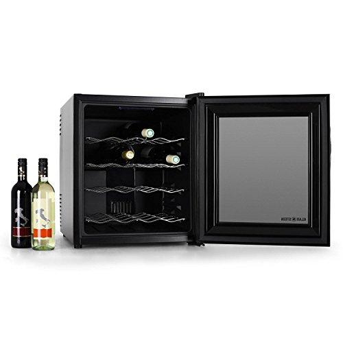 Klarstein Apa Refrigerador De Vino 16 Botellas Negro
