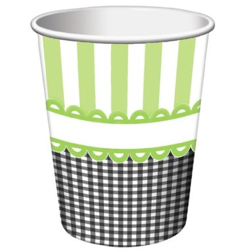Creative Converting Sweet Baby Feet Green Hot or Cold Beverage Cups, 8-Count Creative Converting-Toys 377287