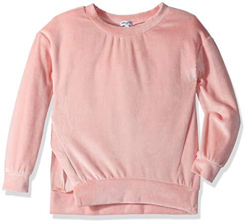 Splendid Big Girls' Kids and Baby Long Sleeve Pullover Sweater, Mellow Rose, 14