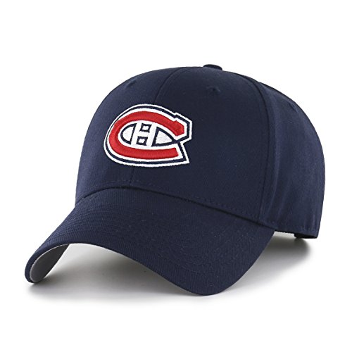 NHL Montreal Canadiens OTS All-Star Adjustable Hat, Navy, One - Montreal Hat Shop