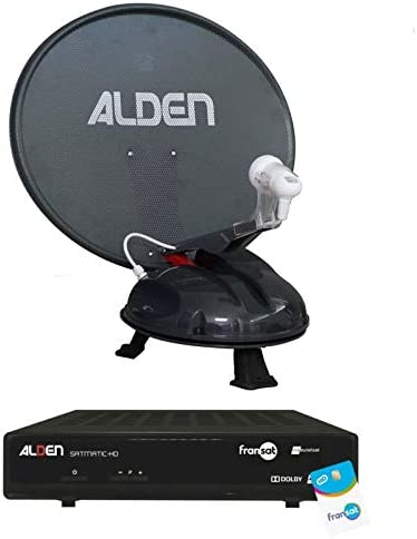 Alden vansat 60 antena Satellite automático portátil + ...