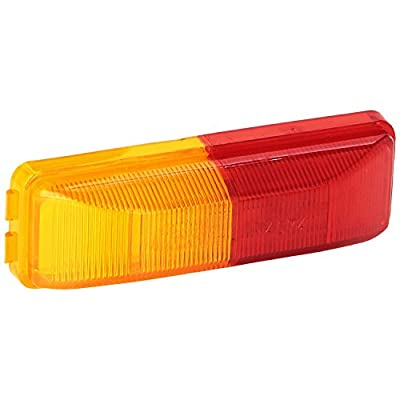 Grote 46740 Red/Yellow Clearance Marker Light (Split Lens): Automotive