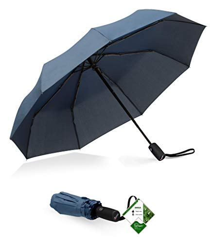 Repel Windproof Travel Umbrella with Teflon...