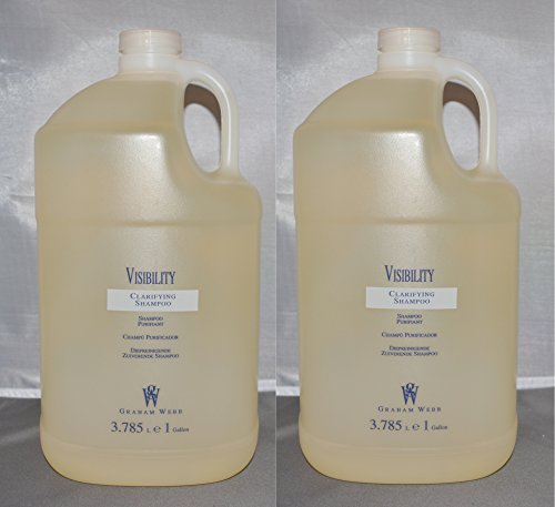 Graham Webb Visibility Clarifying/Cleanser Shampoo Gallon/128 oz with Pump (2 pack)