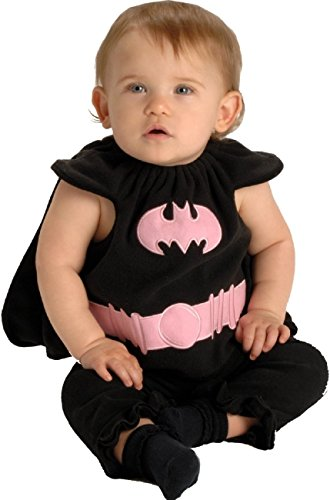 Batgirl Bib Newborn Costume (As Shown;One Size) (Batgirl Costume Bib)
