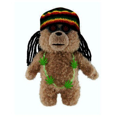 Ted Bear in Rasta Outfit 8